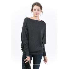 Женщины раунд шеи пуловер