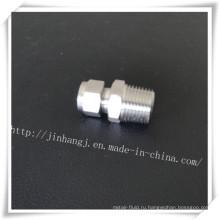 Прямые фитинги из нержавеющей стали с резьбой (304/316)