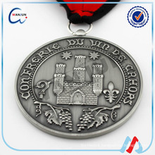 funny embossed medal of st benedict