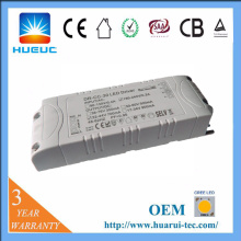 30w plastic 0-10v dimmable led driver