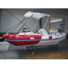 Bateau semi-rigide / bateau pneumatique rigide (RIB470C)