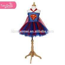 Superm Cosplay Disfraz de Halloween para niños Tulle Tutu Dress Girl Fiesta de Navidad Vestidos de rendimiento de cumpleaños Vestido de princesa niña