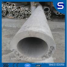 Tubería / peso / tamaños soldados con autógena Wenzhou del acero inoxidable