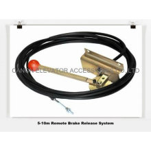 Romote Brake Release System for Elevator Motor