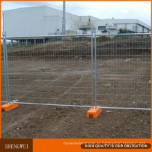 Los paneles temporales al aire libre galvanizados calientes de la cerca del metal de Australia