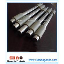 NdFeB Barre magnétique Puissance magnétique de la tige Force magnétique du cadre Barre en acier inoxydable