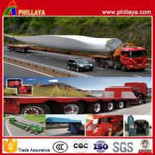 Heavy Duty Wind Power Flatbed Trailer Truck