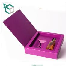Custom made wholesale single color rigid box for beach blanket