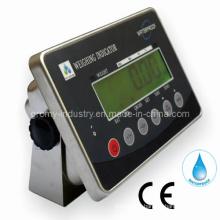 Indicateur numérique d'échelle de pesée étanche à l'eau