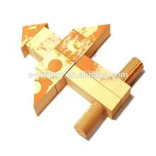 Les blocs de construction en bois des blocs de construction en bois jouet briques blocs pour adulte