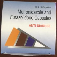 Cápsulas de Metronidazol y Furazolidona
