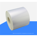 NX72 Waterproof matte silver adhesive thermal transfer polyester glossy label stickers