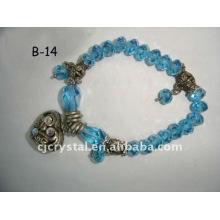 2015 Fashion Bracelet,Crystal Glass Beads