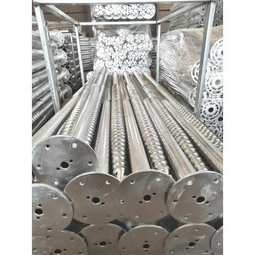 Ground Foundation Metal Ground Screw Pile
