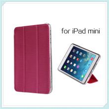 Heißen TPU-Metall-Leder-Etui für iPad Mini