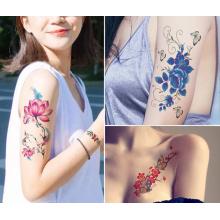 transfert d'eau personnalisé autocollant de tatouage temporaire personnalisé transfert d'eau autocollant de tatouage temporaire