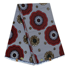 popular 100 cotton veritable  real ankara african wax printed fabric 6 or 12 yards per piece for  school uniform dress fabric