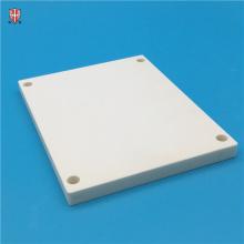 plaque vierge en céramique d'alumine d'isolation thermique