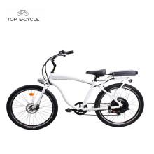 Mens aluminum frame chopper bicycle beach cruiser bike/ electric bike bicycle