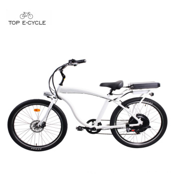 Мужская алюминиевая рама чоппер велосипед пляж крейсер велосипед/ электрический велосипед