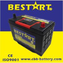 12V80ah Qualidade Premium Bestart Mf Veículo Bateria JIS 95D31L-Mf