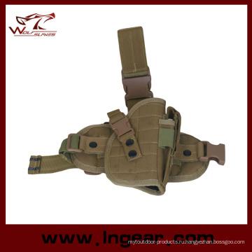 Тактические 600d нейлон падение ноги Кобура для M92 94 Пистолет кобуры пистолет