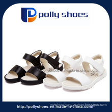 New Style Cheap Beach Sandals PU Sandal for Girls