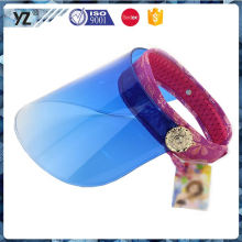 New arrival high safety fashion plastic visor cap China wholesale