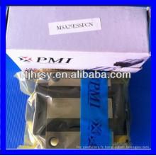 Taiwan PMI chariot linéaire / guide linéaire glissière MSA25E