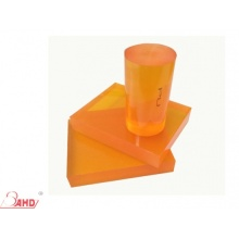 Golden Yellow Color Cast Polyurethane PU Rod