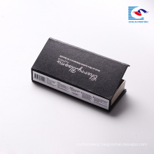 Luxury custom cosmetic private label false eyelash glue box packaging cardboard