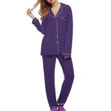 Pijama de manga larga para mujer