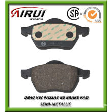 D840 VW Passat B5 OE quality semi-metallic brake pad