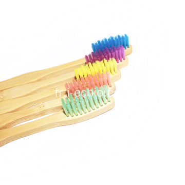 Brosses à dents adultes Brosses à dents en bambou