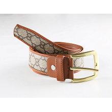 PU Leather and Webbing Needlepoint Belts