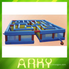2014 new children outdoor Inflatable maze