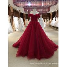 Princesa Vestido De Boda Rojo De La Boda