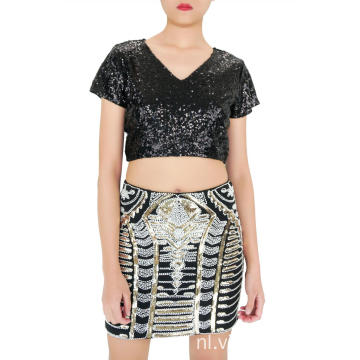 Mini Boutique rok met lovertjes