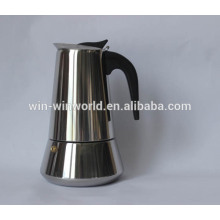 Industion Stainless Shinny 9 Cups Cooks Coffee Espresso Maker