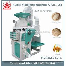 máquina de moinho de arroz em casa máquina automática na china