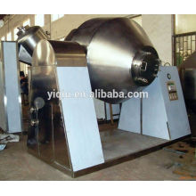 Metal oxide powder double tapered vacuum drying machine
