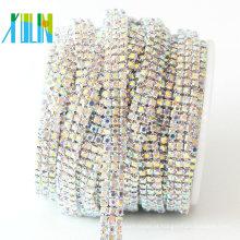 Cadeia de pedras de vidro multi linhas para atacado
