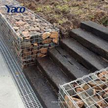 Заводская Цена дешевые гарантировать 4мм нержавеющей стали сваренная Коробка gabion