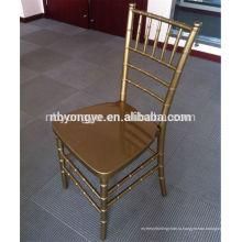Золото смола chiavari стул / стул tiffany