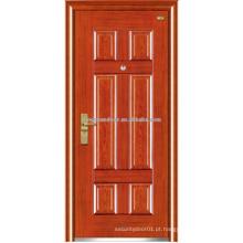 Portas exteriores de porta de porta de aço inoxidável