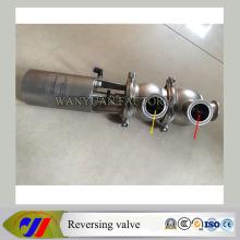 Пневматический реверсивный клапан из нержавеющей стали