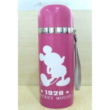 Luckey Mouse Design Stainless Steel Hip Vacuum Flask