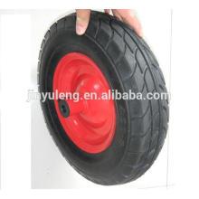 rueda de la carretilla de alta calidad 4.00-8 para la carretilla de rueda, carro de mano, carro,