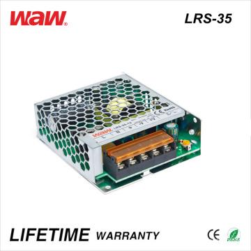 Lrs-35 SMPS 35W 24V 1.5A Ad/DC LED Driver