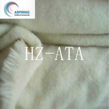 Tecido de lã de algodão / 20s1X10s Tecido de flanela de algodão